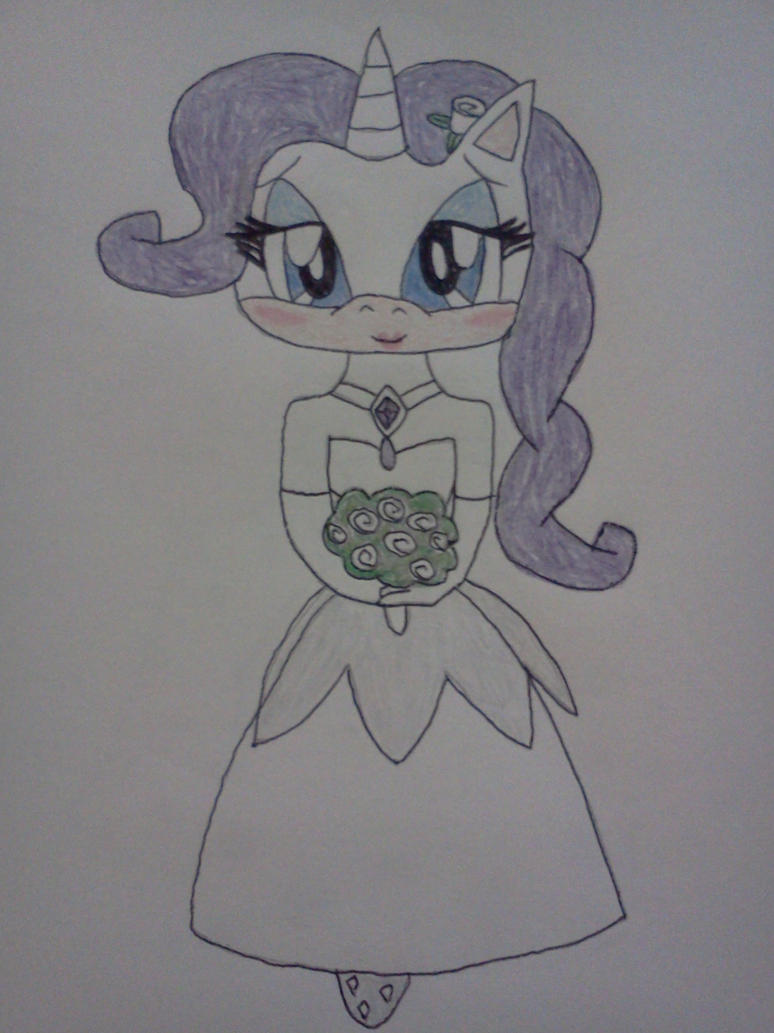 Rarity: Wedding Dress by shiva9891 on DeviantArt