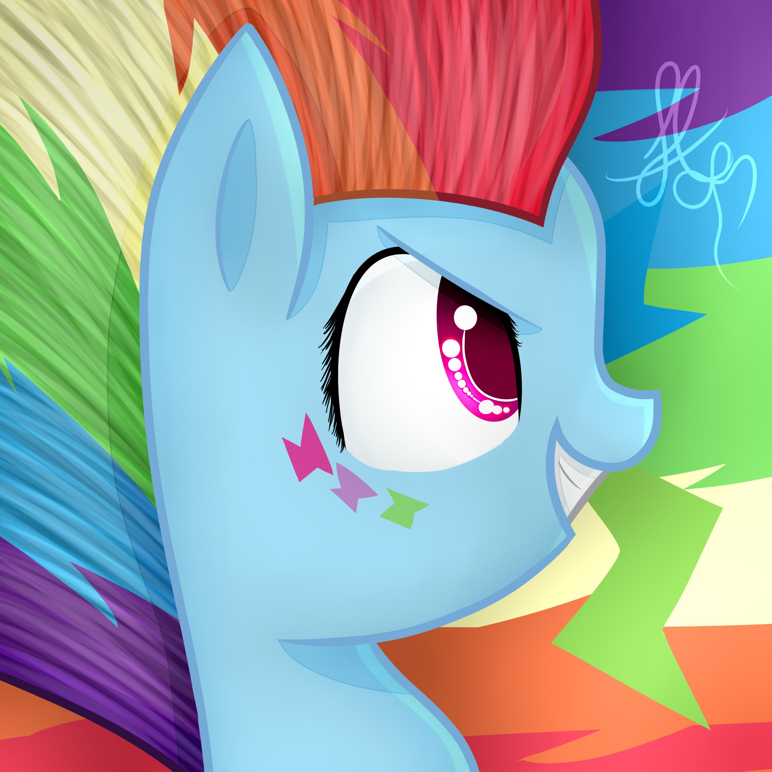 rainbow_dash_rainbow_power_by_applejacks2-d8dbkck.jpg (2500×2500)