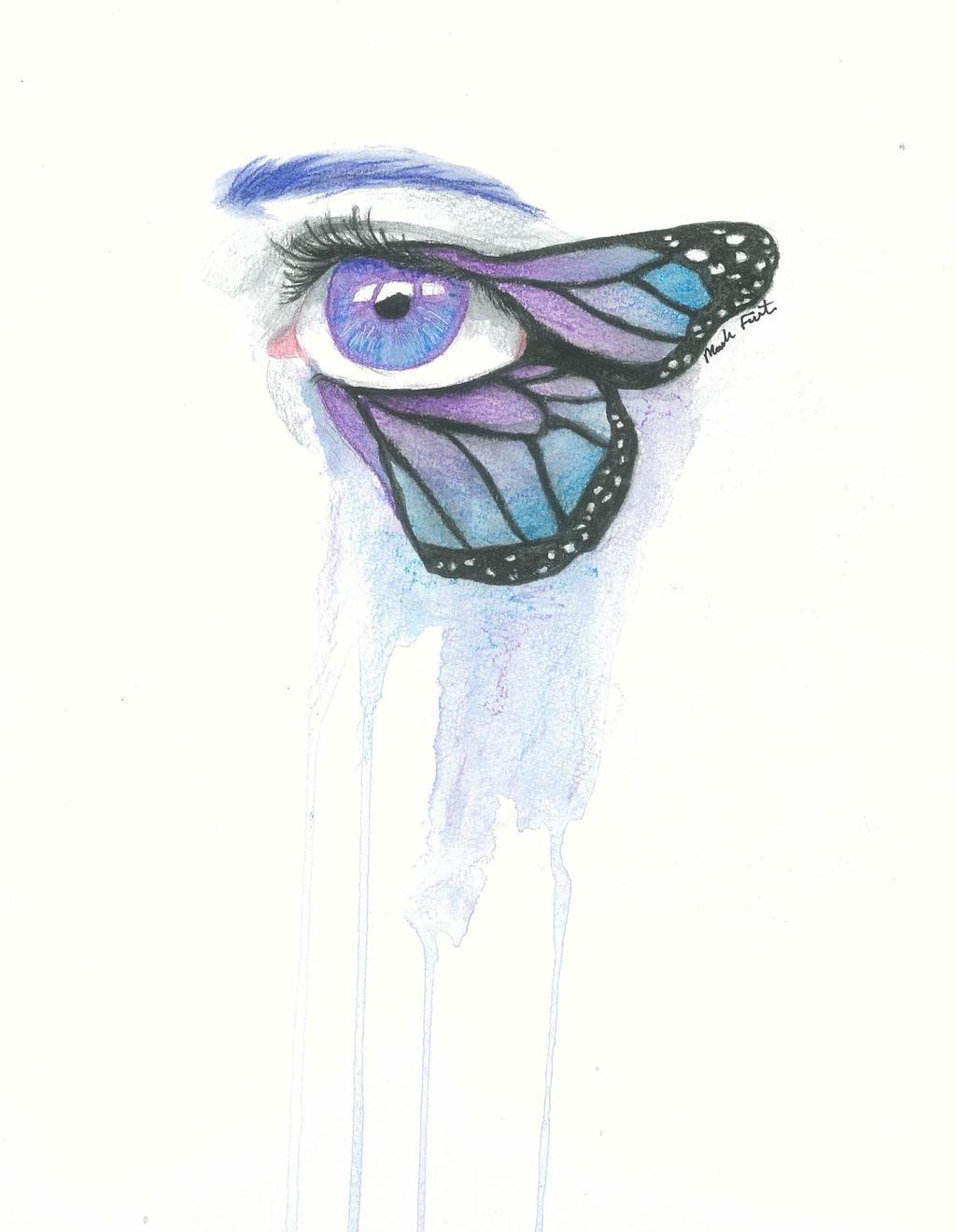 Butterfly Eye by MoaVBritannia