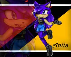 Anita The Vampire Hedgehog. by SugarTC