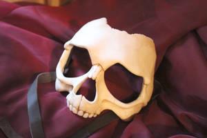 Human Skull Mask by aishavoya