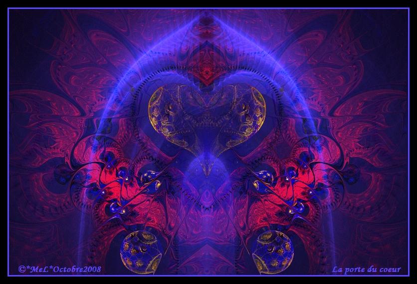 La porte du coeur by MeLinFrance