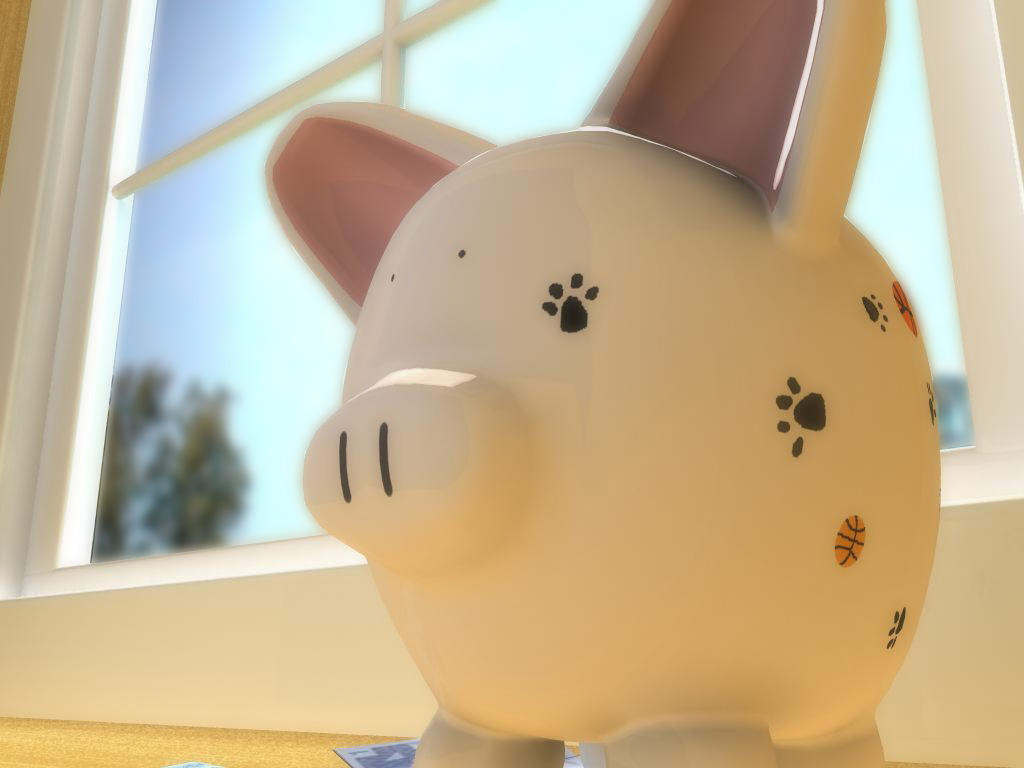 Piggy Bank by ejeanmy