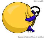 Inflated Blastoise 3