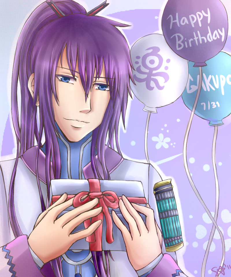 Gakupo : Happy Birthday By Sakurasamichan On DeviantArt
