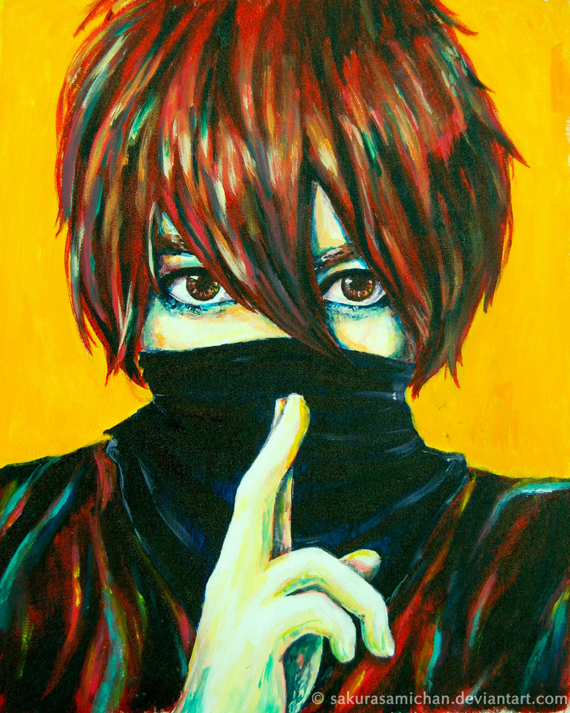 Shining Shinobi - Painting by sakurasamichan