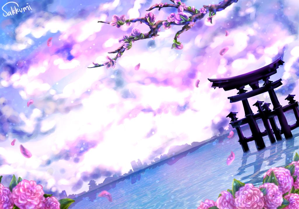 Tranquil Tides by sakurasamichan