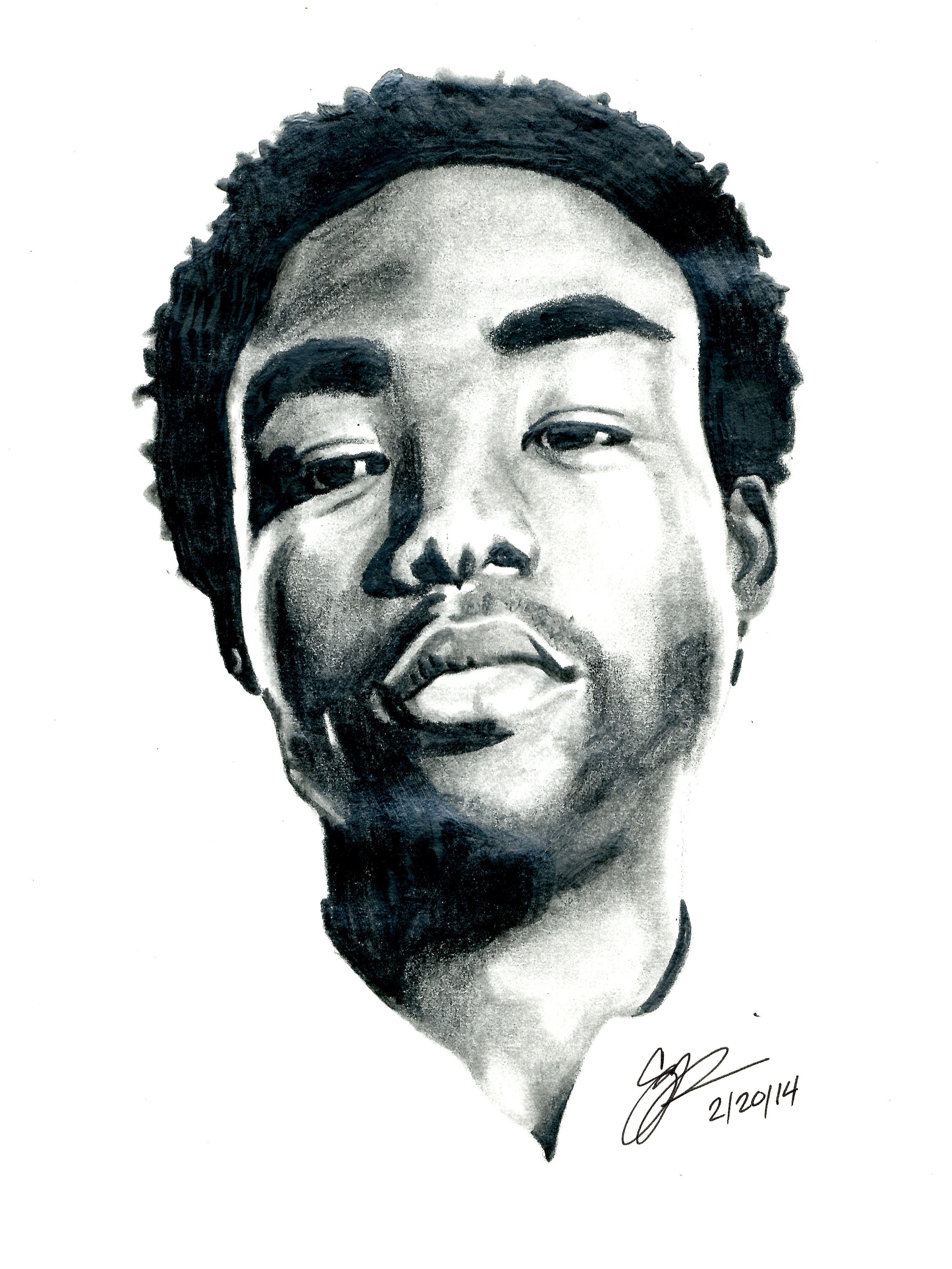 Childish Gambino Is Eating Oreos In A Parked Car