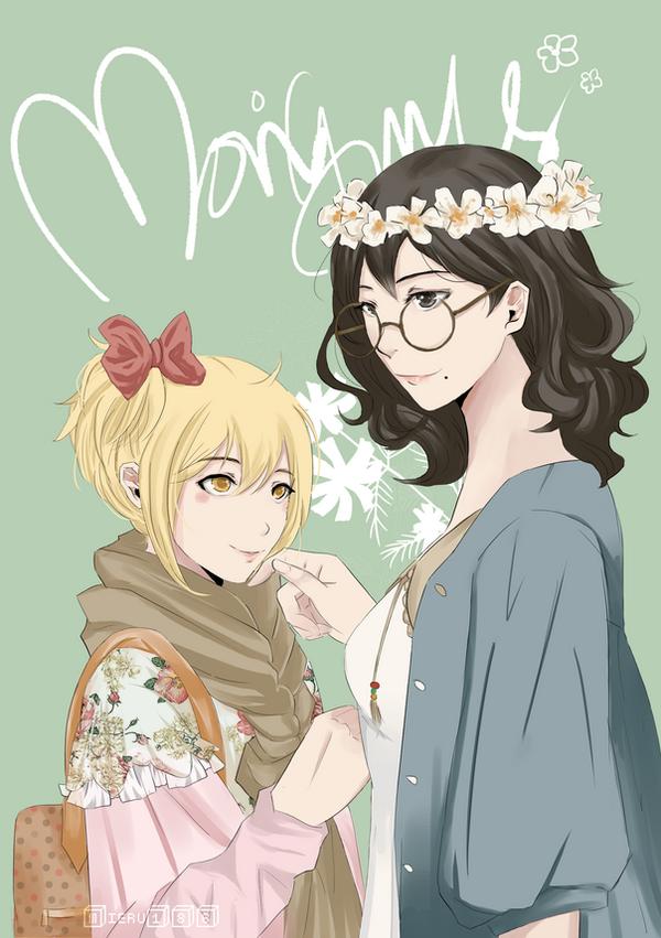 Mori Girls by Miel-san
