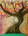 Autism Awareness original painting for donation