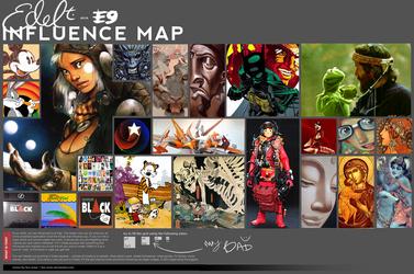Infulence map meme