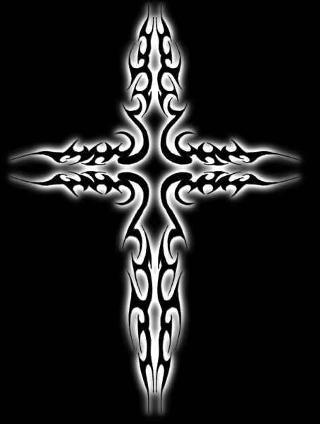 tribal cross wallpaper by - photo #6