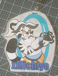 xMichiyo FurReality 2018 Badge