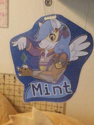 Mint - FurReality 2018 Badge