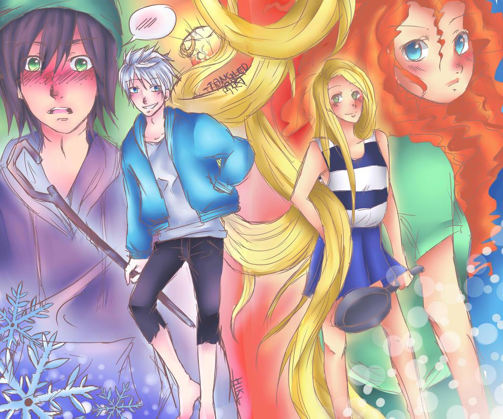 The big four by Hikiko-chan