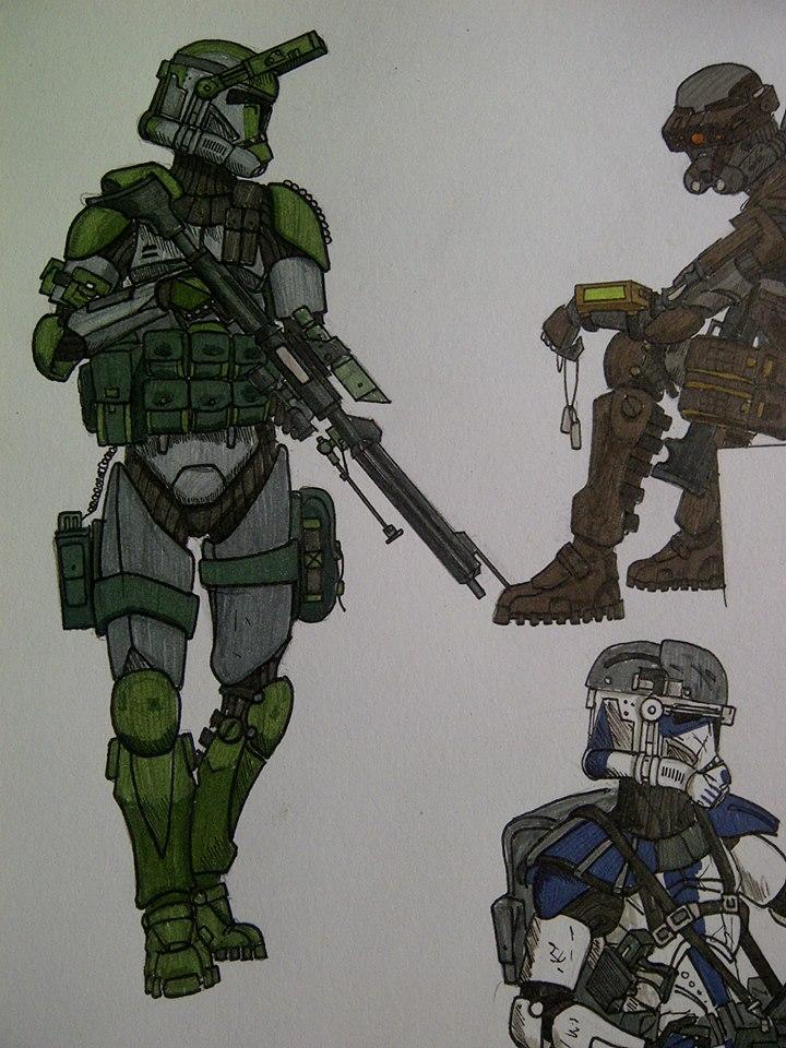 Clone ranger/marksman by halonut117