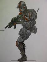 Clone shock trooper by halonut117