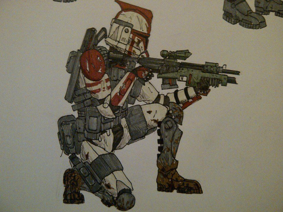 184th Clone Infantryman by halonut117