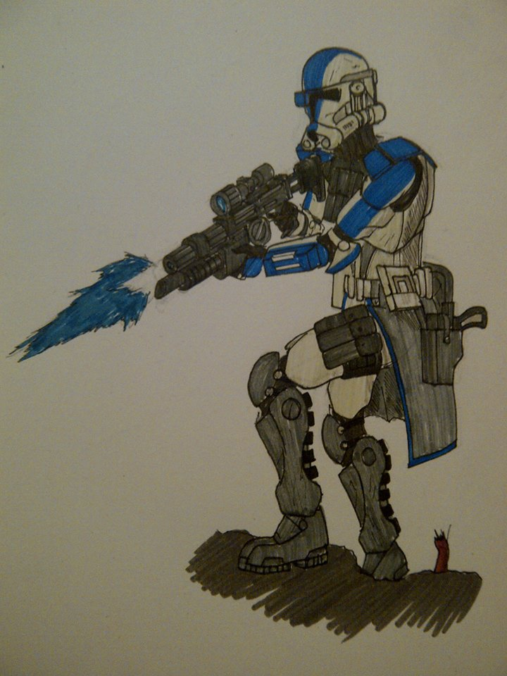 Phase 2 ARC trooper by halonut117