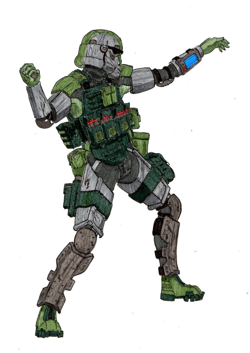Stormtrooper Ranger By Halonut117 On Deviantart