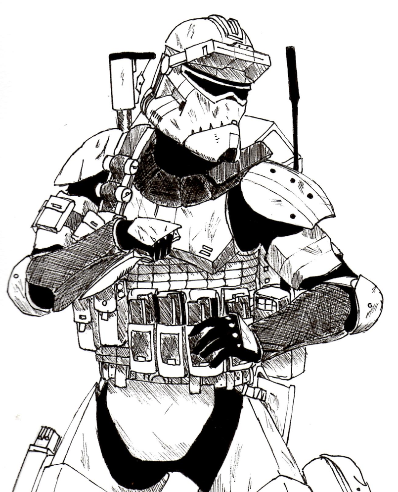shock troopers coloring pages - photo#6