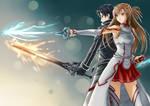 SAO Kirito and Asuna