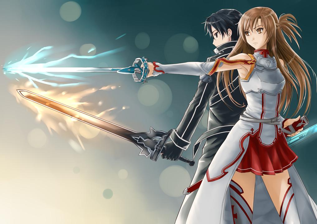 SAO Kirito and Asuna by jastersin21Kirito And Asuna