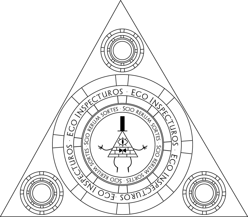 Bill cipher coloring pages ~ Bill Cipher MD MK 2 by Limey-Boy