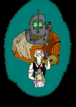 Bioshock OC's: Al, Marty and Rosie