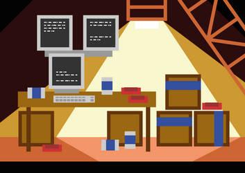 Teleglitch Starter room