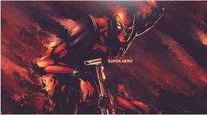 Deadpool smudge