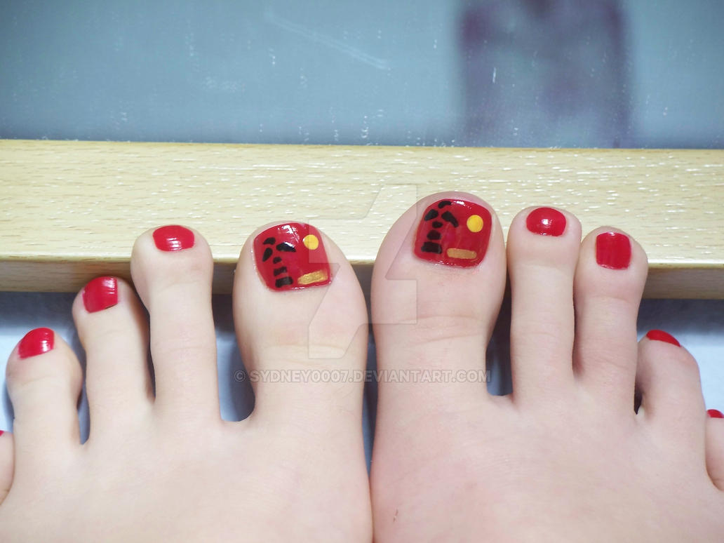 Tropical toes by Sydney0007