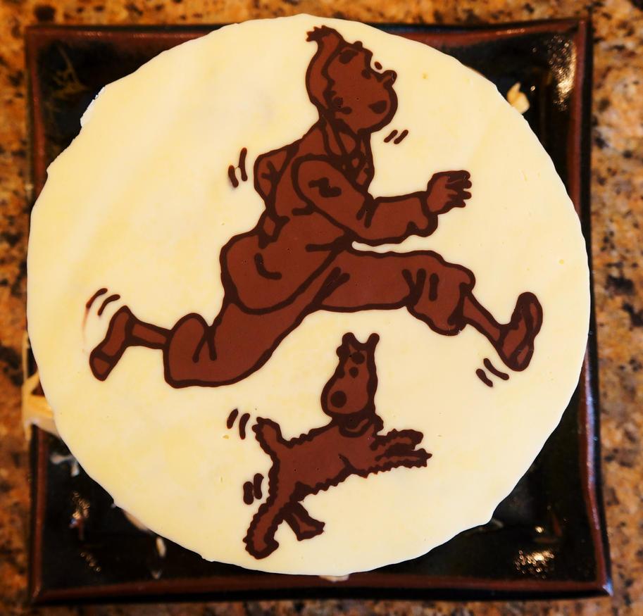 Tintin Birthday Cake