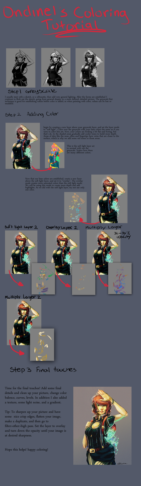 Coloring Tutorial by Ondinel
