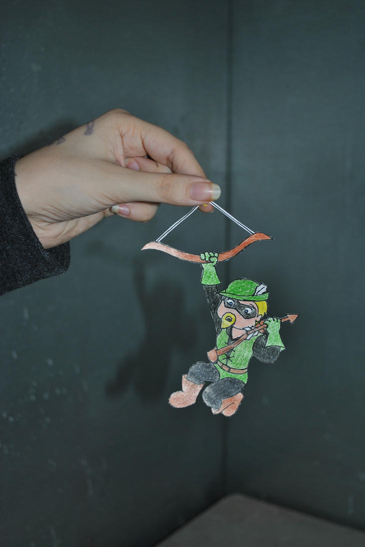 Green Arrow Chibi Gotcha By Knyleborealis On Deviantart