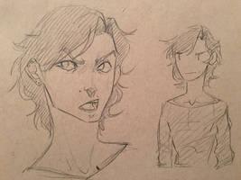 Meet the artist concept doodles by NurseNuurii