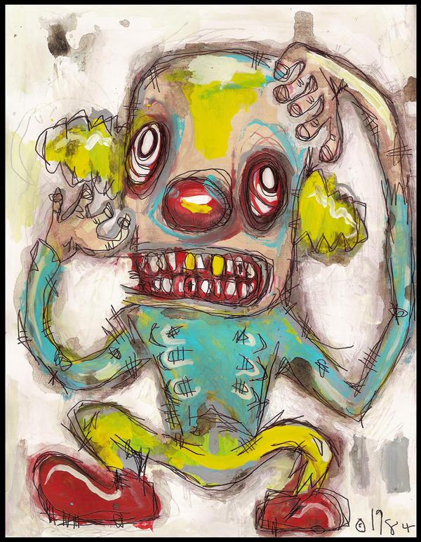 Psycho Clown by justinaerni