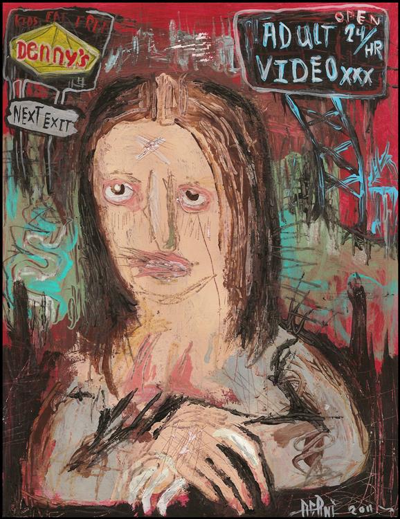 Mona Degenerate Lisa by justinaerni