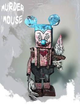 Murder Mouse Sculpture