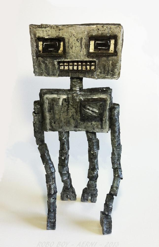 Robo Boy by justinaerni