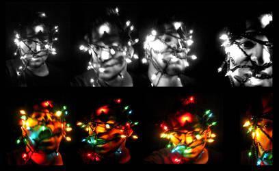 HUMAN CHRISTMAS TREE by justinaerni