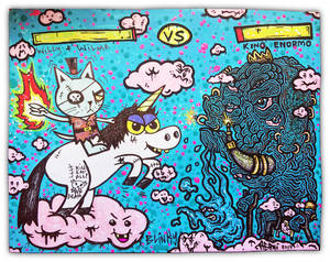 WILLY AND WILMA VS KING ENORMO