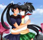 Asuka x Homura