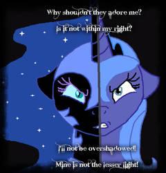 Princess Luna or Nightmare Moon by Demi-MLP