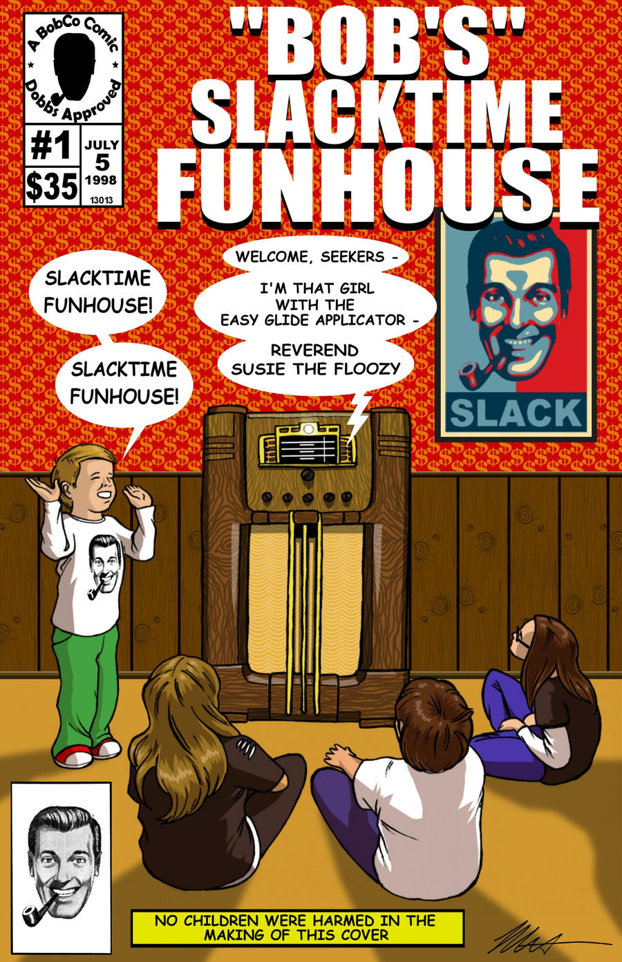 Bob's' Slacktime Funhouse by SicNTwysted on DeviantArt