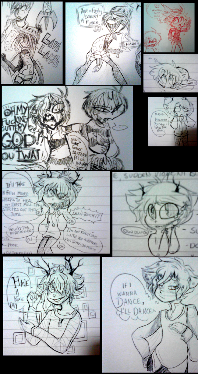Sketch/notebook stuff by BlubberBooty
