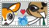Tsunoda X Komiya Stamp by FaerieBottle