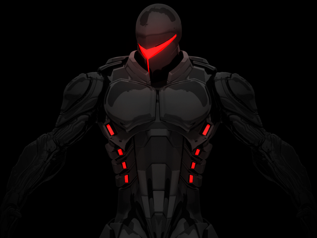 Cyborg concept by davecrypt