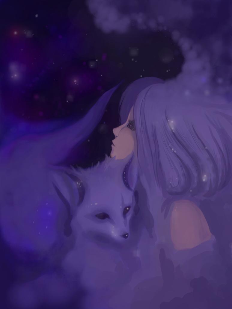 Fox Nebula by Bastyasha