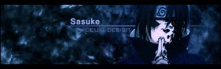 Sasuke signature by Leux